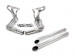 E20508 EXHAUST SYSTEM-SIDE-DOUG'S HEADERS-CERAMIC COATED-SMALL BLOCK-4 INCH SIDE TUBES-63-82