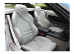 E20533 COVER-SEAT-100% LEATHER-MOUNTED ON FOAM-SPORT-COLLECTOR EDITION-96