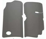 E20565 COVER SET-ENGINE-FUEL RAIL-FIBERGLASS-RK SPORT-PAIR-99-04