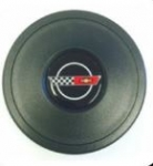 E20996 CAP-STEERING WHEEL WITH C 4 EMBLEM-84-89