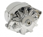 E21136 ALTERNATOR-CHROME-100 AMP-63-82