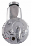 E21246 PUMP-POWER STEERING-NEW-CHROME-SAGINAW STYLE-DIRECT FIT-63-74