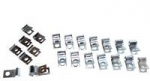 E22232 CLIP SET-BRAKE & FUEL LINE-BIG BLOCK-20 PIECES-68