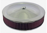 E22241 AIR CLEANER ASSEMBLY-LOW COST REPLACEMENT-NOT EXACT TO ORIGINAL-WITH WASHABLE FILTER-66-72