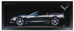 E22820 PRINT-FRAMED-CORVETTE 7th Generation Panoramic Picture-53-19
