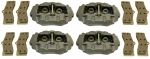 E2286 CALIPER SET-BRAKE-REBUILT-LIP SEAL-WITH PADS-65-82