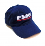 E23041 HAT-EC PRODUCTS-NAVY-SILVER-RED-UNISEX-ADJUSTABLE BUCKLE