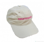 E23050 HAT-CORVETTE PACIFICA-TAN-TAN-PINK-UNISEX-ADJUSTABLE BUCKLE