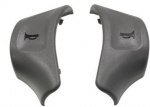 E23059 BUTTON-HORN-GRAY-PAIR-90-91