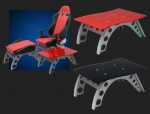 E23219 PITSTOP FURNITURE™ GT SIDE TABLE