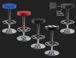 E23222 PITSTOP FURNITURE™ PIT CREW BAR STOOL IN COLORS