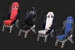 E23224 PITSTOP FURNITURE™ GT RECEIVER CHAIR