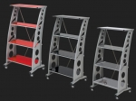 E23229 PITSTOP FURNITURE™ CHICANE BOOK SHELF