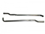 E23611 EXHAUST PIPE -SECONDARY- 327 WITH AUTOMATIC OR 250 3 SPEED - 64-67