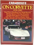E2689 BOOK-CAR AND DRIVER ON CORVETTE-78-82