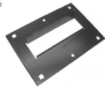 E2757 BRACKET-FRONT LICENSE PLATE-66-67
