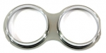 E13642 BEZEL-TWIN GAUGE-EACH-IMPORT-EACH-53-62