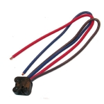 E3654A CONNECTOR-HEADLAMP ROLL OVER SWITCH REPAIR-WITH PIGTAIL-63-67