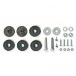 E3740 ATTACHING KIT-SIDE EXHAUST MUFFLER-REAR-65-67 AND 69