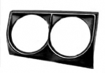 E5600R BEZEL-HEADLAMP-METAL-RIGHT-63L-67