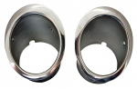 E5855 BEZEL-EXHAUST-STAINLESS STEEL-PAIR-63