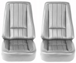 E6946 COVER-SEAT-100% LEATHER-4 PIECES-68