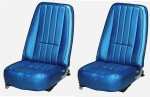 E6950 COVER-SEAT-100% LEATHER-4 PIECES-69