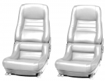 E7003 COVER-SEAT-100% LEATHER-MOUNTED ON FOAM-4 INCH BOLSTER-78 PACE-79-82