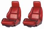 E6997 COVER-SEAT-LEATHER LIKE-SPORT-WITH OUT PERFORATIONS-84-88