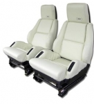 E6996 COVER-SEAT-LEATHER LIKE-SPORT-WITH PERFORATIONS-84-88