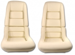 E7054 FOAM SET-SEAT-2 INCH-78 PACE CAR-79-82 ALL-4 PIECES-78-82