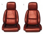 E7061 COVER-SEAT-100% LEATHER-MOUNTED ON FOAM-STANDARD-WITH PERFORATIONS-84-88