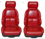 E7087 COVER-SEAT-LEATHER LIKE-MOUNTED ON FOAM-STANDARD-89-92