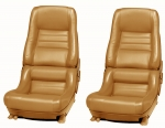 E7004 COVER-SEAT-100% LEATHER-MOUNTED ON FOAM-2 INCH BOLSTER-78 PACE-79-82
