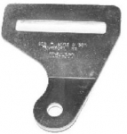 E7444 BRACKET-LOWER SEAT BELT ANCHOR-INSIDE-LEFT OR RIGHT-EACH-56-62