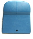 E779328-1 PANEL-MOLDED-SEAT BACK-WITH OUT UPPER SEAT TRIM OR VENT-BRIGHT BLUE-EACH-67