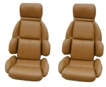 E7934 COVER-SEAT-100% LEATHER-MOUNTED ON FOAM-STANDARD-89-92