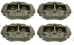 E8222S CALIPER SET-BRAKE-NEW-O RING STYLE-NO CORE CHARGE-4 PIECES-65-82