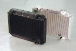 E8939B RADIATOR-ALUMINUM-DIRECT FIT-BLACK ICE FINISH-55-60