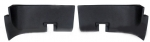 EC141UP PANEL-REAR ROOF INNER-UNPAINTED BLACK GRAINED PLASTIC-COUPE-USA-PAIR-69-72
