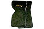 EC975LS MAT SET-FLOOR-80-20 LOOP-WITH EMBROIDERED STINGRAY LOGO-COLORS-PAIR-70 AND 72-75