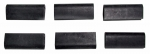 E10509 BUMPER SET-REAR QUARTER TRIM PANEL-CONVERTIBLE-6 PIECES-63-67