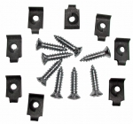 E10532 SCREW SET-EXHAUST BEZEL-16 PIECES-68-69