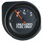 E11033 GAUGE-FUEL-WITH WHITE FACE-77
