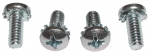 E11127 SCREW SET-REMOVABLE REAR WINDOW LOCK-4 PIECES-68-72