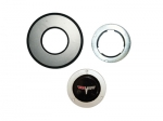 E11884 BUTTON KIT-HORN WITH EMBLEM-TILT AND TELESCOPING-80-81