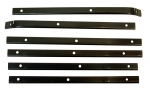 E2096 RETAINER-SOFT TOP-CONVERTIBLE TOP SIDE RAIL WEAHTERSTRIP-6 PIECES-56-62