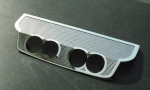 E21563 Panel-Exhaust-Billy Boat Route 66 4.0 Exhaust-Perforated-Stainless Steel-05-13