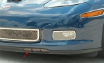 E21581 Grille-Front Air Dam-Laser Mesh-Polished-Z06, ZR1, or Grandsport-Pair-05-13