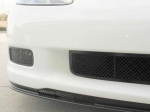 E21630 Grille-Front Air Dam-Laser Mesh-Black Stealth-Z06, ZR1, or Grandsport-Pair-06-13